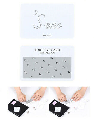 [Pre] SM TOWN Artist TAEYEON ['s...One] CONCERT GOODS : FORTUNE SCRATCH SET