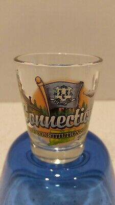 Minnesota The North Star State 225 Shot Glass Wstate Flag