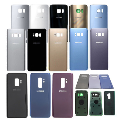 OEM For Samsung Galaxy S9+ S7edge S8+ Housing Glass Battery Door Cover Back Case