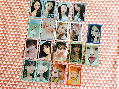 Twice Summer nights Collection photocard 2nd special album