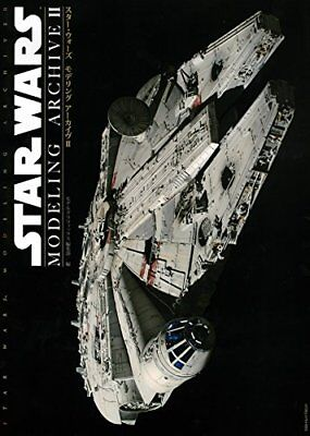 STAR WARS MODELING ARCHIVE 2 Japanese Book PG 1/72 MILLENNIUM FALCON Plastic