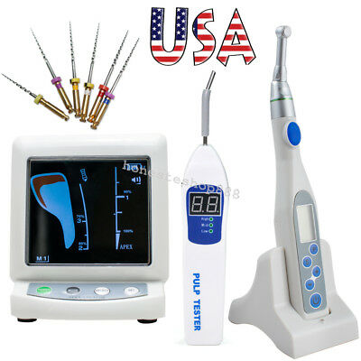 Color LCD Dental Apex Locator +Root Canal Endo Motor Treatment 16:1 +Pulp Tester