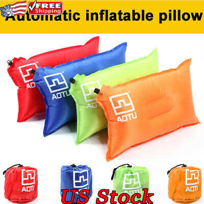 Protect Head Neck Travel Pillows Outdoor Inflatable Air Pillow Comfor Cushion