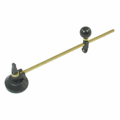 Suction Cup 6 Turrets Copper Tone Metal Tile Glass Compass Cutter