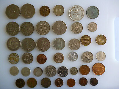 41 interesting coins- multiple countries