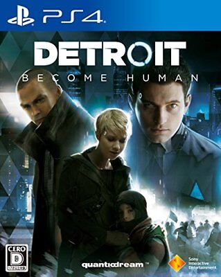 PS4 Detroit: Become Human [NEW] Japan Import