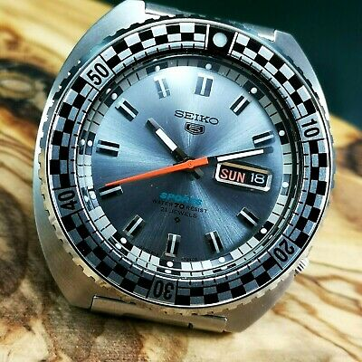 """SEIKO Sports Racing (6119-7173) Rally Diver Men's Automatic Watch """"NO RESERVE"""""""