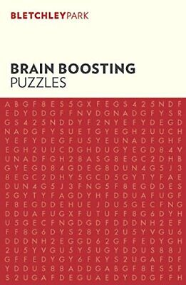 Bletchley Park Brain Boosting Puzzles by Arcturus Publishing Book The Cheap Fast