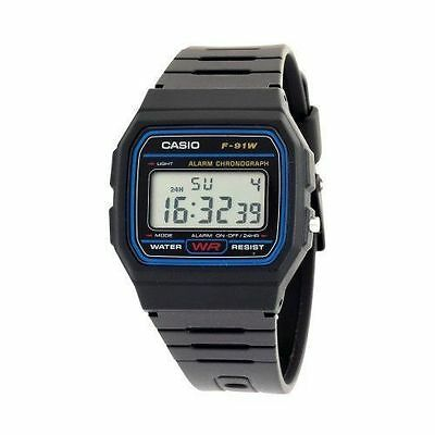 Casio Classic F91W-1 Stopwatch Alarm Watch for Men- Hot Sale - 2 years Warranty