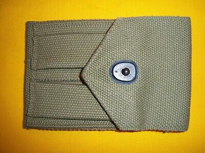 Rare 1943 Dated Usmc M1911 .45 Acp Mag Pouch Mint Unissued Green Tan Khaki Color