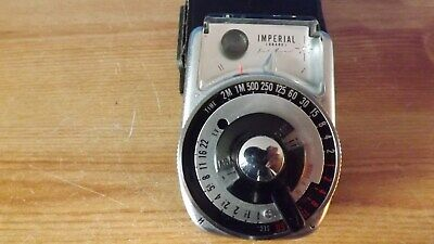 Vintage Japanese-Made Imperial Cds Light Meter With Case (Relisted)