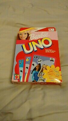 Barbie UNO card game by Mattel ~ 42803 ~ free postage