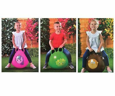 Outdoor Garden Kids Space Hopper Bouncy Inflatable Fun Bouncing Toy