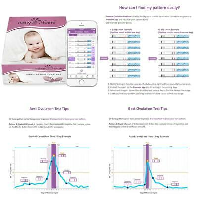 Easy@Home 50 Ovulation Test Strips and 20 Pregnancy Kit - The Reliable...