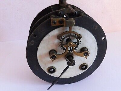 FOUND ANTIQUE GERMAN H A C  CLOCK MOVEMENT   TWIN KEY WINDER  REG No 391600