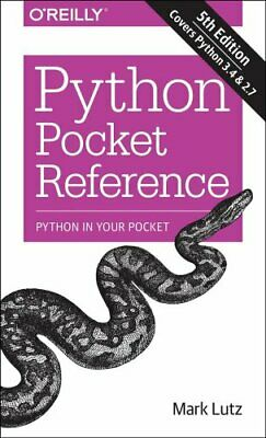 Python Pocket Reference by Mark Lutz 9781449357016 (Paperback, 2014)