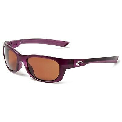 ffb892391b Costa Del Mar Trevally Sunglasses Matte Orchid Copper 580P Polarized New in  Box