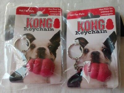 Kong Dog Toy Key Chain New With Tags Red 2 Available Not A Toy For Dogs Fun