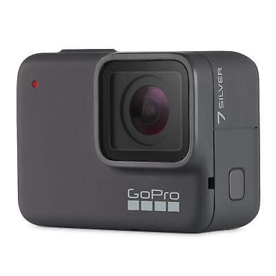 GoPro Hero 7 Silver - 4K Action Cam - Touchscreen Display