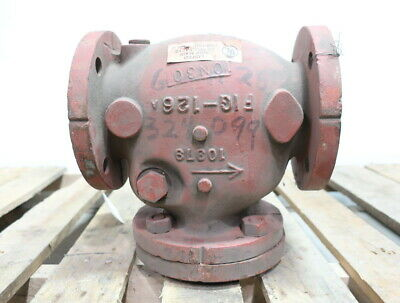 Kennedy 126 Class 175 Iron Flanged 3in Check Valve
