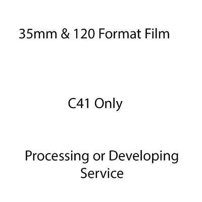 35mm Film Developing or Processing Service + Scans