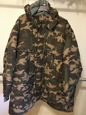 8ddf95b7024 Boulder Creek Big Tall Hooded Lined Expedition Parka Camouflage Coat 7X Men  NEW