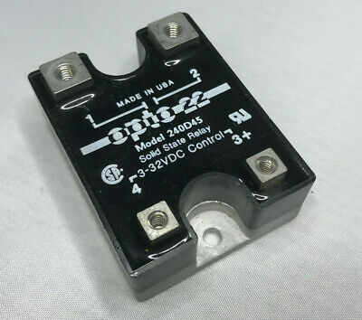 Opto 22 Model 240D45 Solid State Relay 3-32VDC