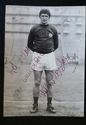 Calcio Football FOTO CON  AUTOGRAFO ANGELO CERESER  anni '70  ORIGINALE D'EPOCA