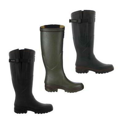 New Aigle Parcours 2 Vario Mens Womens Adjustable Wellies Wellington Boots