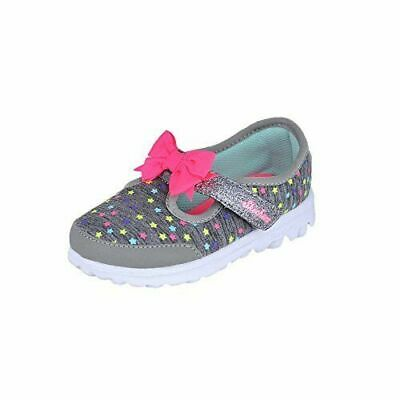 34f237f9c39f Toddler Shoes Skechers Girls Sneakers No Lace Star Gray Choose Your Size  Toddler
