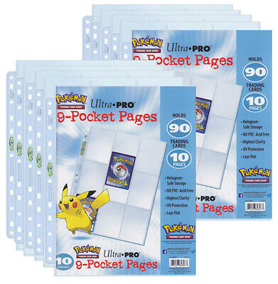 Pokemon - 9-Pocket Platinum Pages (10)