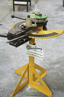 """1.75"""", Used (Demo Machinery) BAILEIGH MANUALLY OPERATED TUBE & PIPE BENDER, Mdl."""