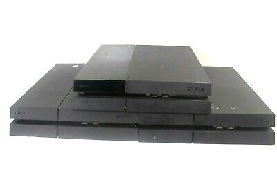 Lot of 3 Sony PlayStation 4 PS4 CUH-1215A 500GB Jet Black Consoles- PARTS/REPAIR