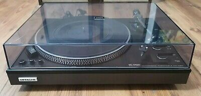 Vintage Hitachi HT-460 Direct Drive Automatic Turntable (Made in Japan 1977)