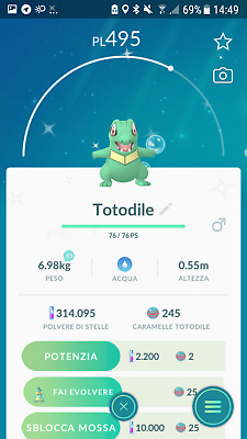 Shiny Totodile Trade Pokemon Go For Spoofers Only