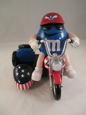 """M&M's Candy Dispenser """"Freedom Rider""""  loose"""