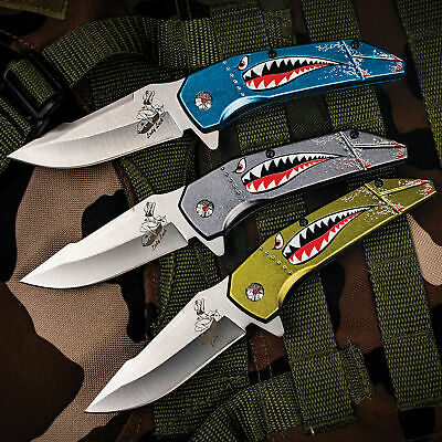 "8"" 3Cr13 Stainless Steel Blade ASSISTED OPENING FOLDING Pocket Knife EDC New"