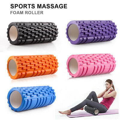 Yoga Fitness Roller Exercise Cross Fit Perfect Self Massage tool Home Gym Pilate