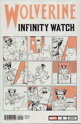 Wolverine: Infinity Watch Nr. 2 (2019), Cat Variant Cover, Neuware, new