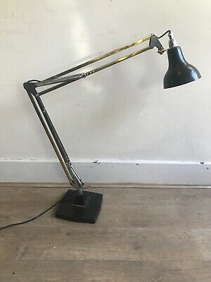 Model 1208 1933 Repolished Early Anglepoise Desk Lamp