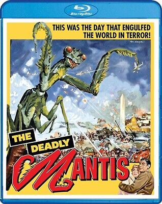 THE DEADLY MANTIS New Sealed Blu-ray