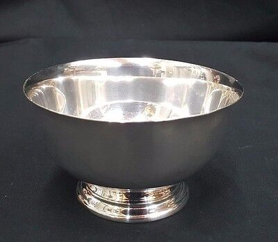 Paul Revere Reproduction Small Sterling Silver Bowl 4.4 Troy Ounces