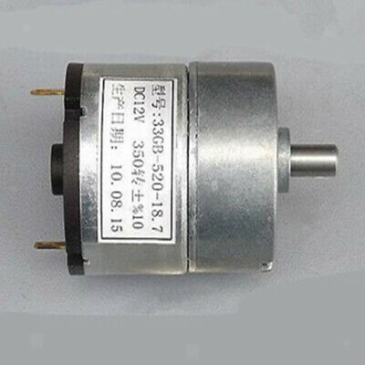 High Torque Gear Reduction Motor w/ Impact Resistance 170-350rpm 6V-12V