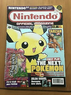 Official Nintendo Magazine - Issue 89 - Feb 00 - Pokemon Gold - Nintendo 64