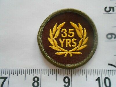 VFW Veterans of Foreign Wars 25 Year Member Circular  Patch   free shipping