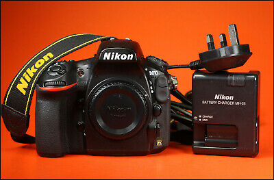 Nikon D810 DSLR 36MP  Camera, Sold With Battery & Charger, & Strap