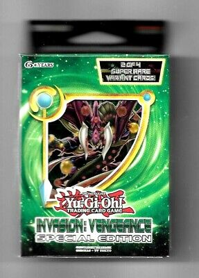 YuGiOh Invasion: Vengeance Special Edition 3 Pack Booster Box NEW Fast Free Ship