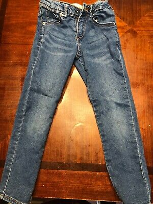 EUC Zara Girls Casual Collection Blue Skinny Stretch Jeans Denim Pants Size 5
