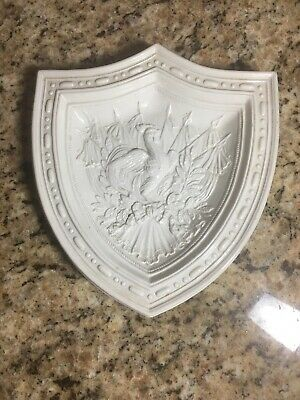 Vintage MOTTAHEDEH Rooster Crest Wall Plaque Italy