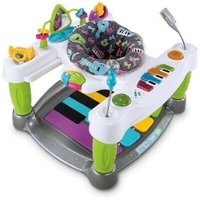 Piano Baby Walker and Multi Functional Jumper Funny Luxury